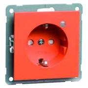 NOVA wcd, insteekcontacten en randaarde LED, oranje D 20.6511.332 LED/4