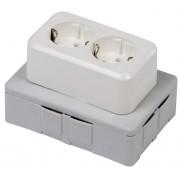 Flexbox lasdoos inclusief deksel + WCD en 4 inserts halogeenvrij