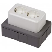 Flexbox lasdoos inclusief deksel + WCD en 4 inserts VSV donker g