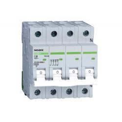 Installatieautomaat 63A 3P+N 10 kA C Kar Ex9BH 3PN C63