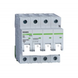 Installatieautomaat 40A 3P+N 10 kA D Kar Ex9BH 3PN D40